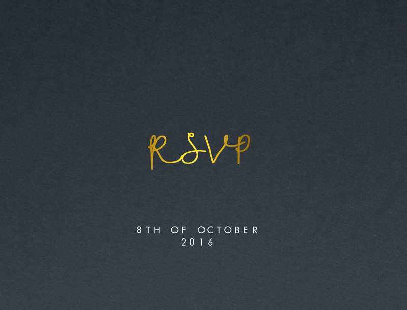 Competition Winner - RSVP Cards