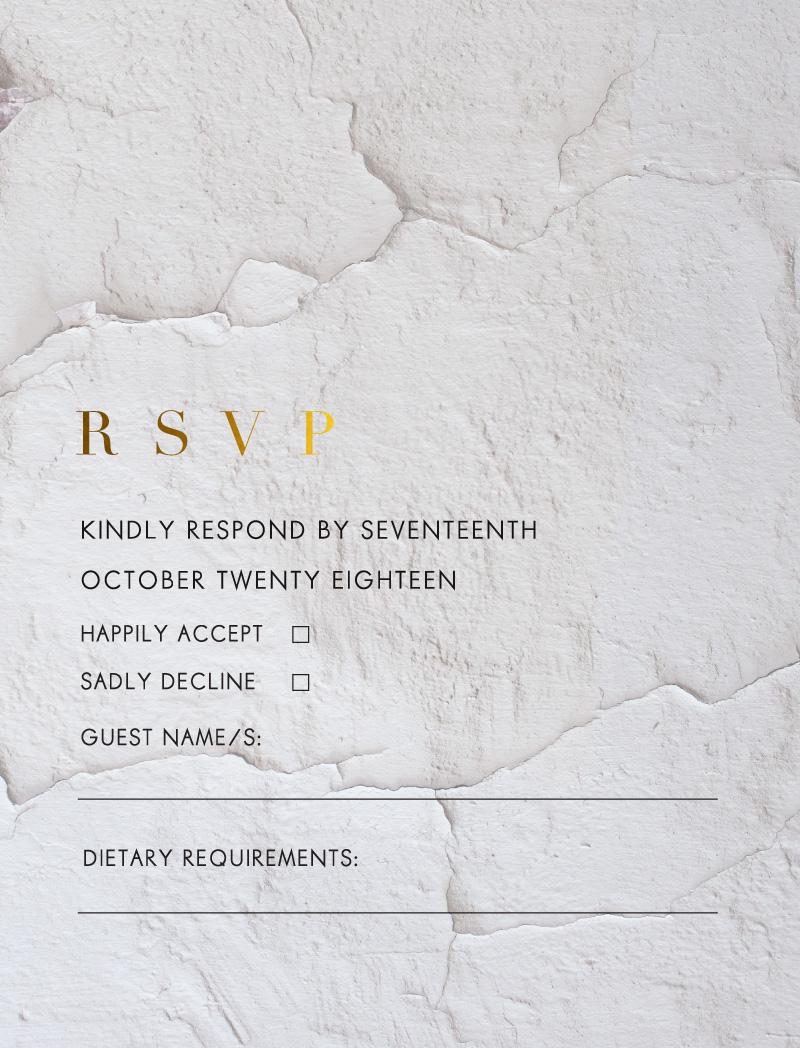 Ivy - RSVP