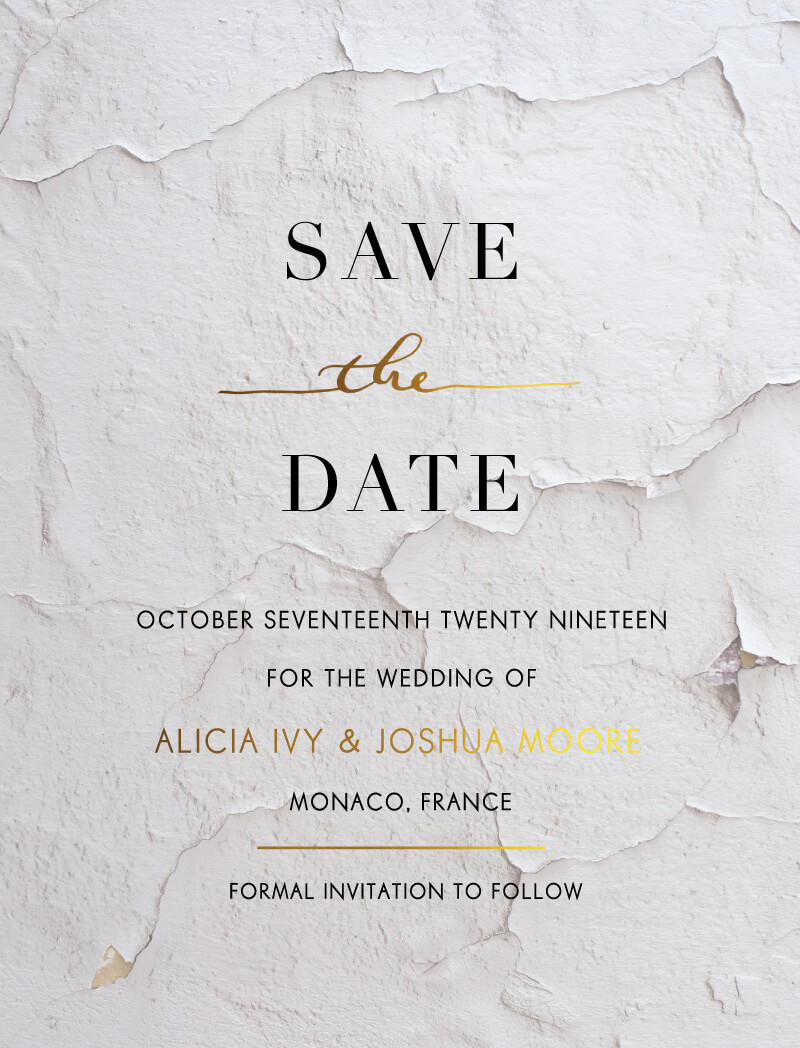 Ivy - Save The Date