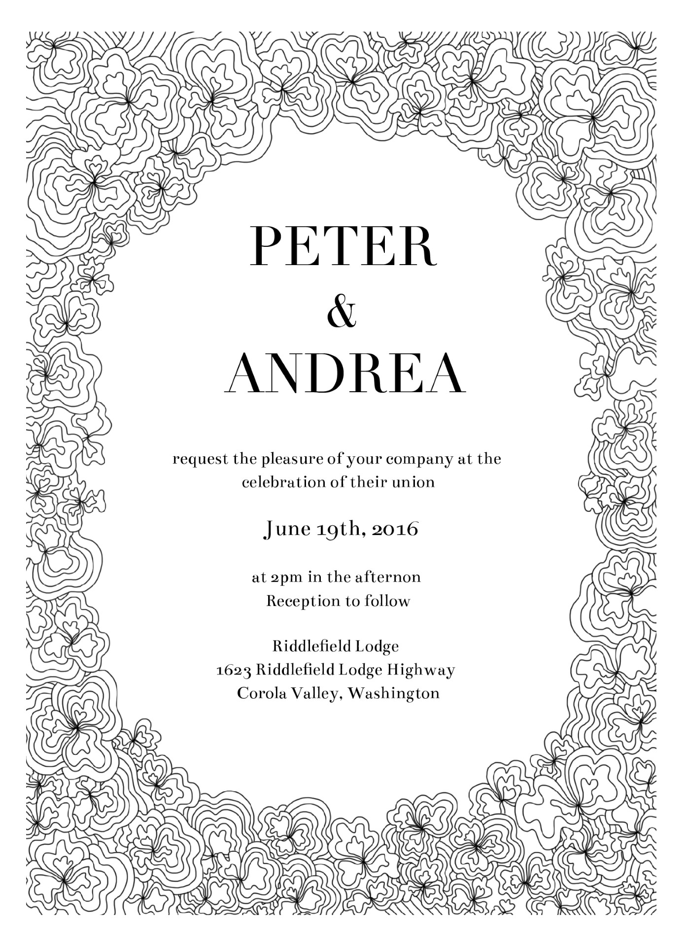 Doodle - Invitations
