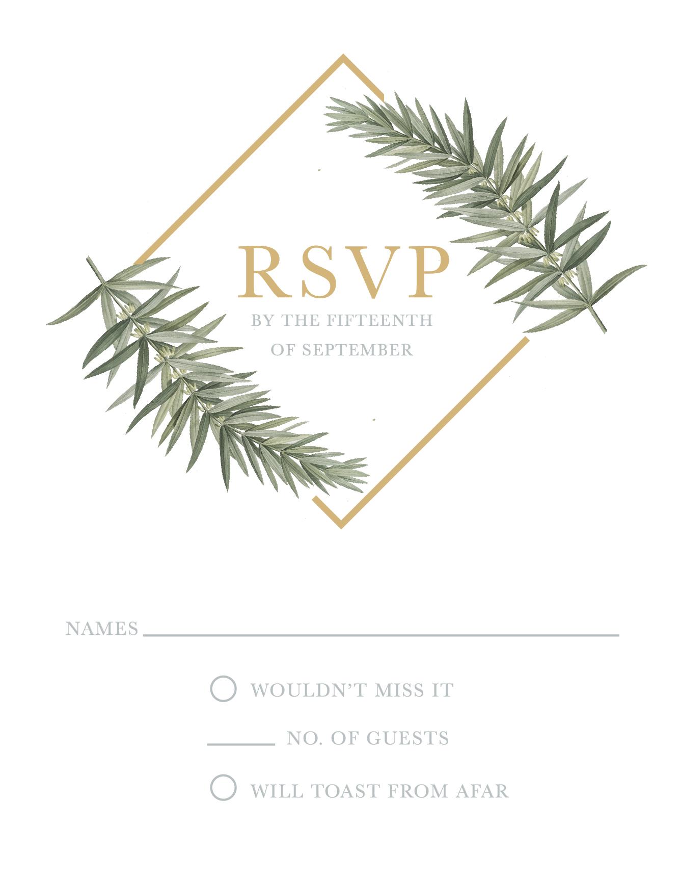 Diamond Branch - RSVP
