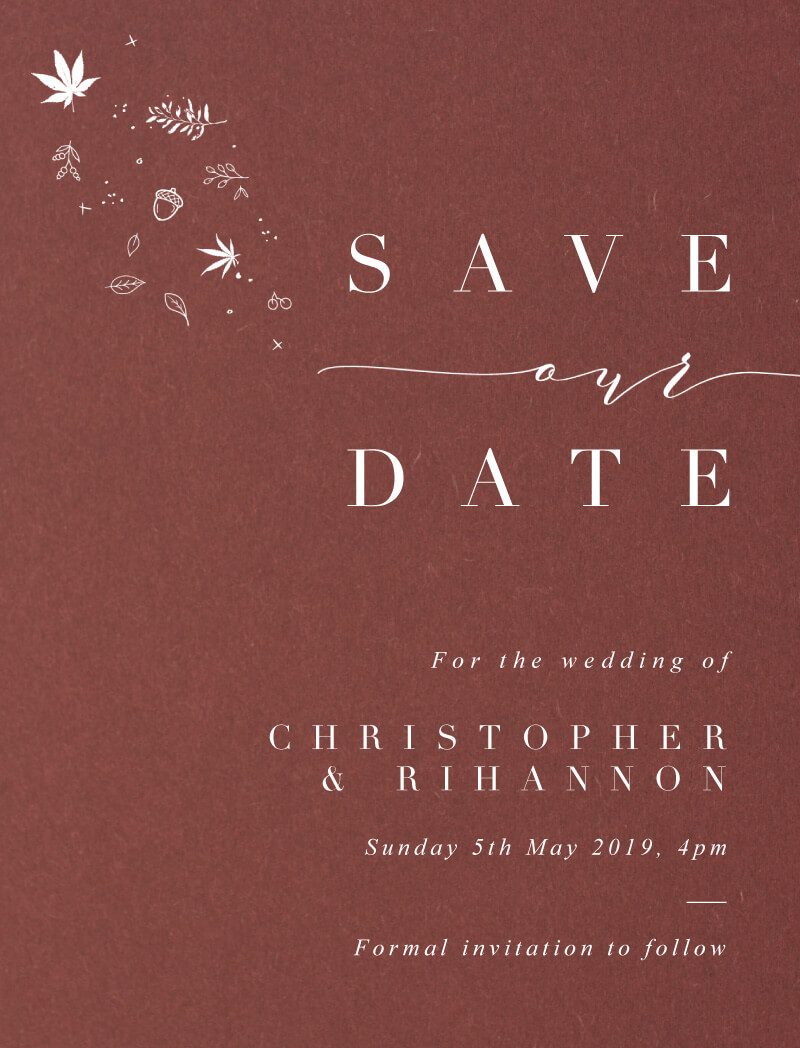 Sprinkle of Love - Save The Date