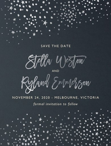 Under Stars Save The Date - Save The Date