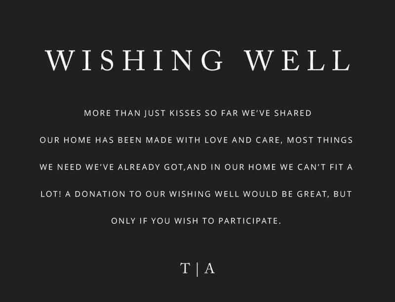 Black and White - Wishing Well