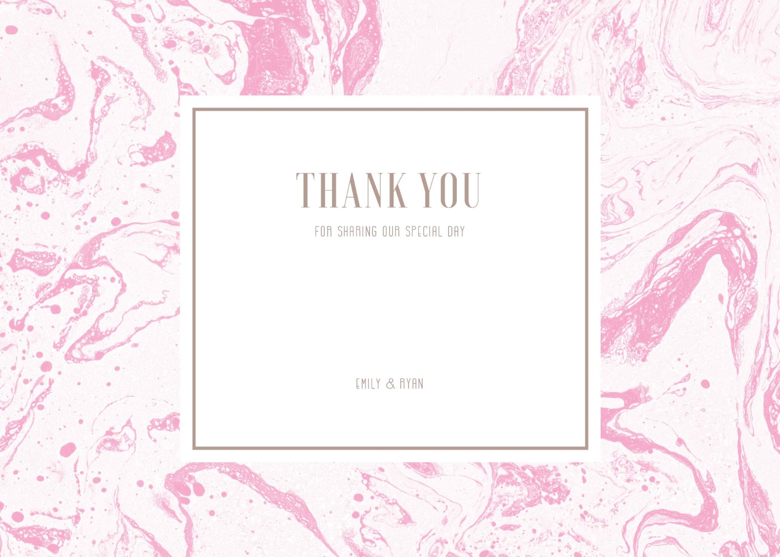 Sweet Marble - Thank You Cards