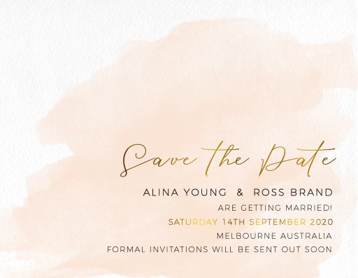 Rosey Save The Date - Save The Date