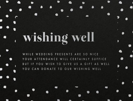 Wedding Invitation Wishing Well Wording: Wedding Invitations