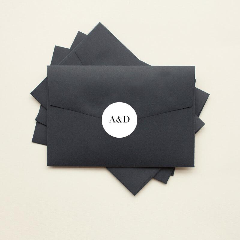 Serif Stroke - Stickers