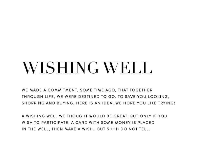 Serif Stroke - Wishing Well