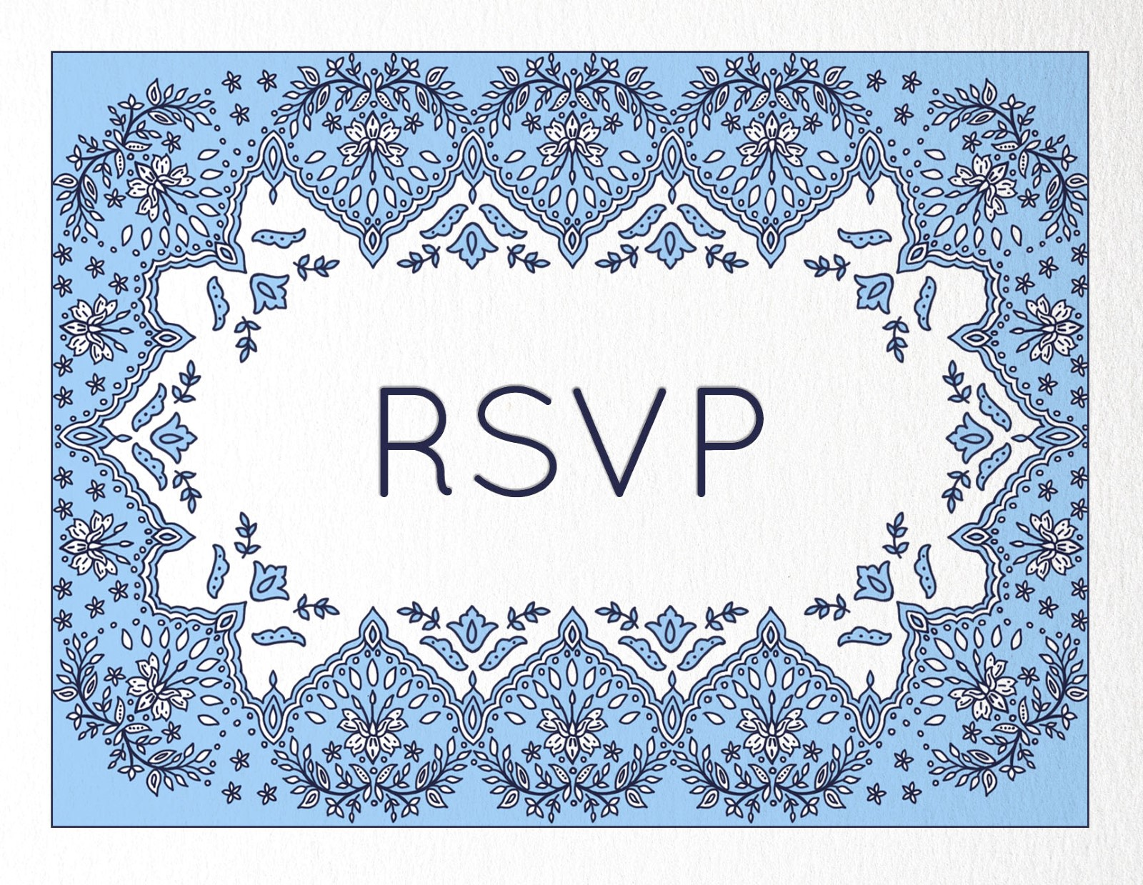 Decorative Lace - RSVP