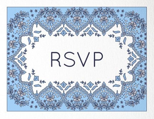 Decorative Lace - RSVP Cards