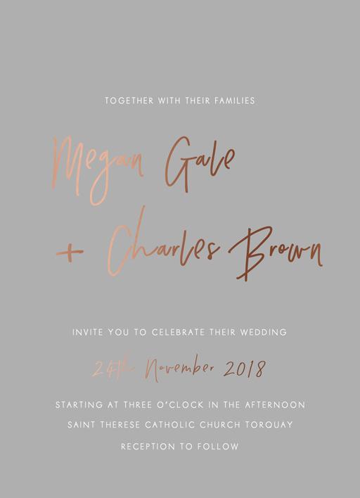 Clair De Lune Wedding Invitations - wedding invitations
