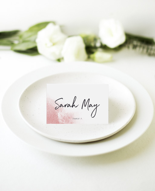 Moira Hughes Couture - Place Cards