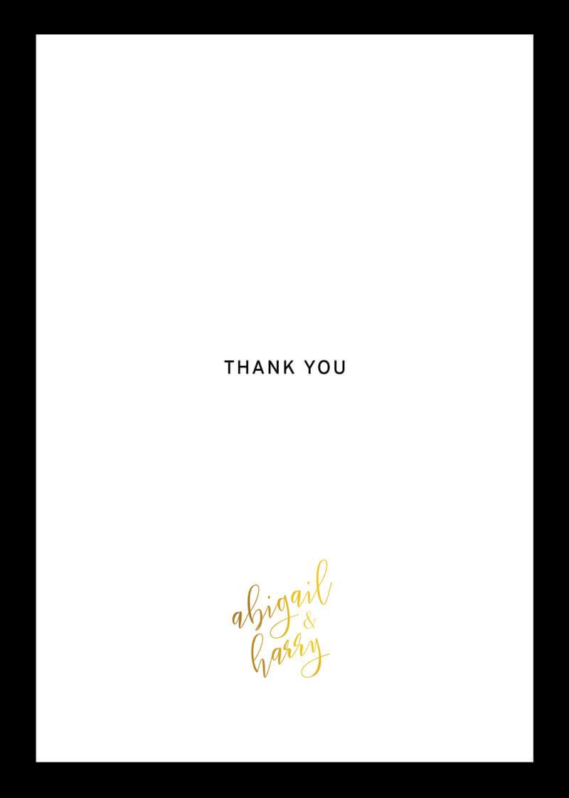 Sleek border - Thank You