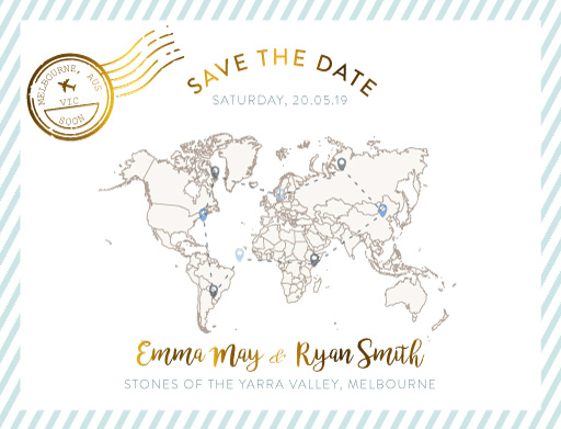 Lets Travel Together Save The Date - Save The Date