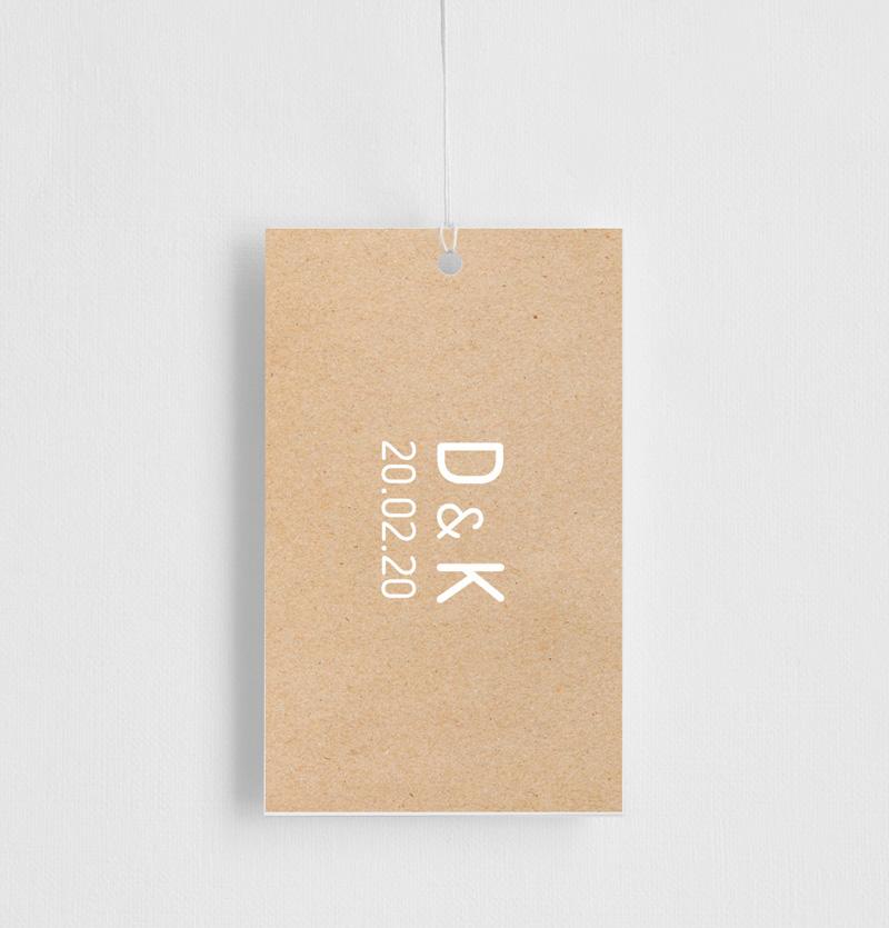 Rustic Minimal - Gift Tags