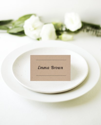 Woodstock - Place Cards