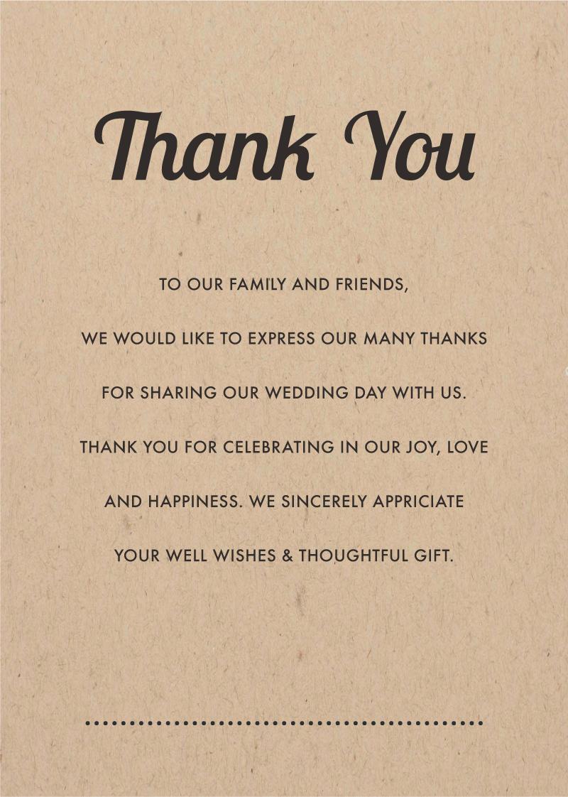 Woodstock - Thank You