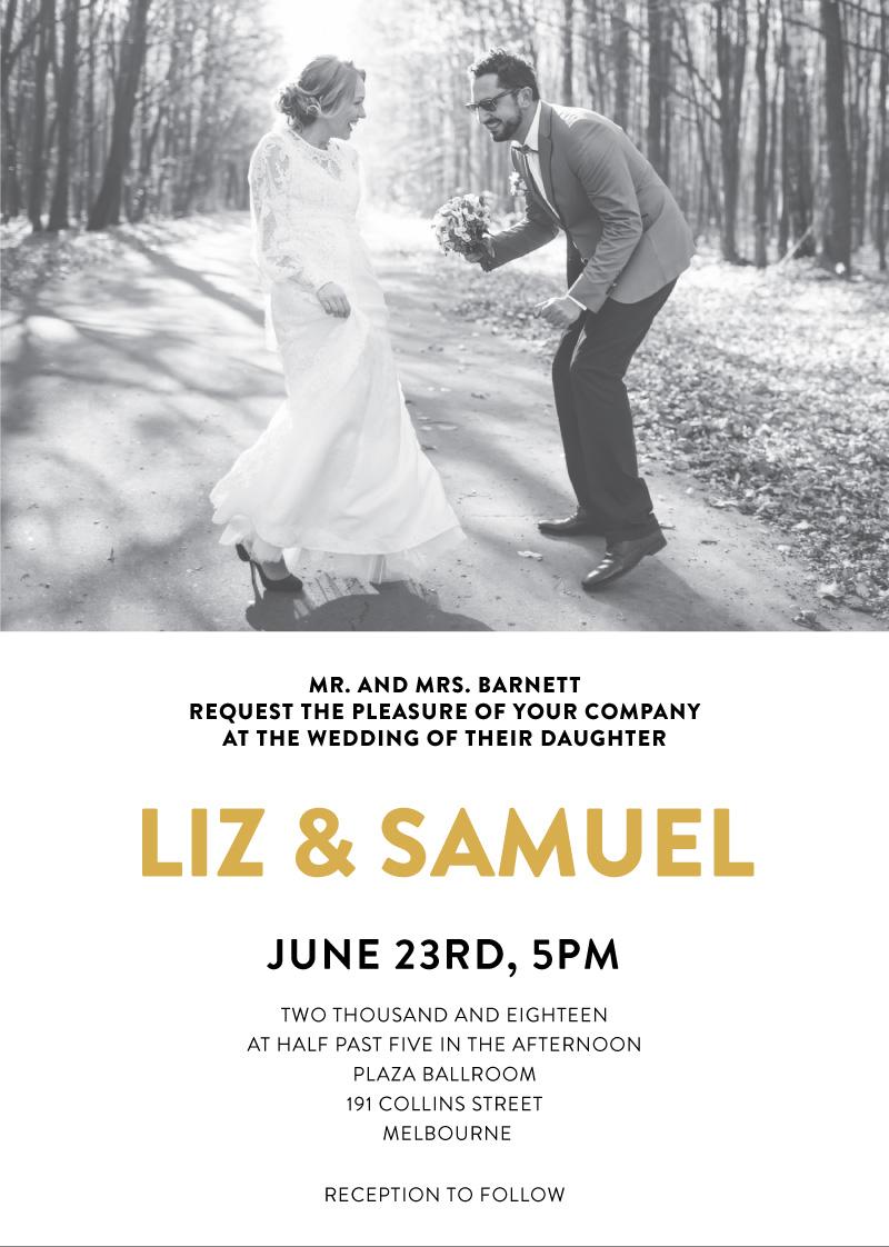 Photocards - Wedding Invitations
