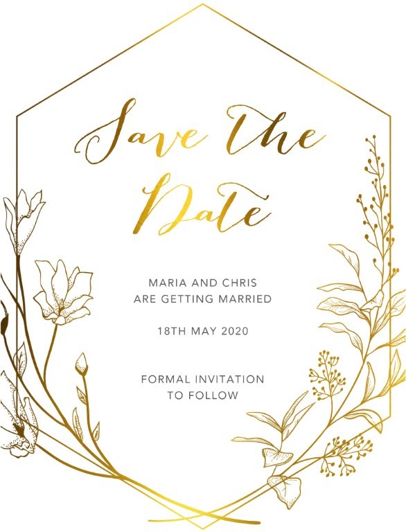 Saint Mary Save The Date - Save The Date