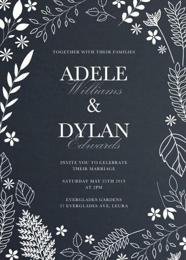 Winter Woods Wedding Invitations - wedding invitations