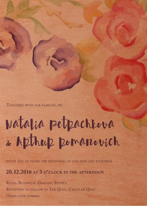Rustic Botannica - Invitations