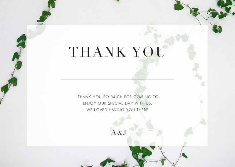 Ivy - Thank You