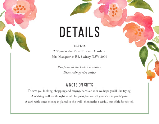 Wreath - Information Cards