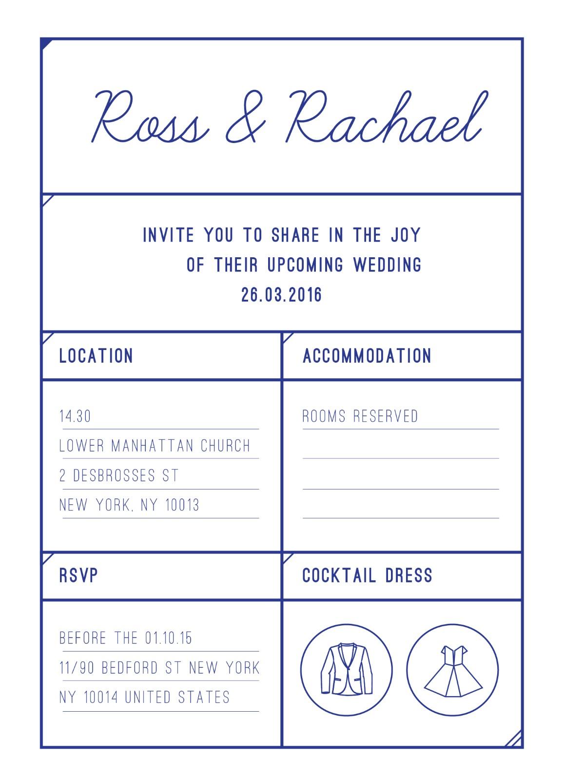 Box - Invitation