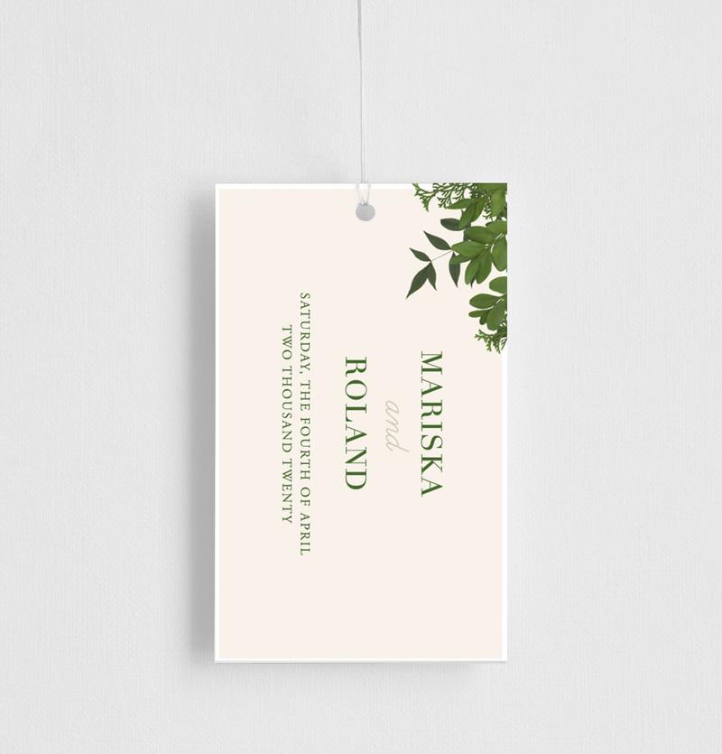 Mod Botanical - Gift Tags