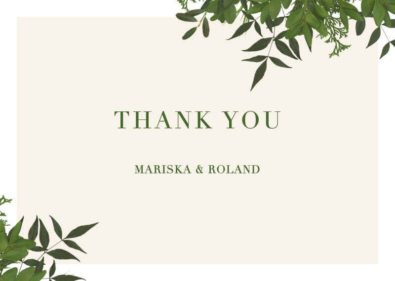Mod Botanical - Thank You