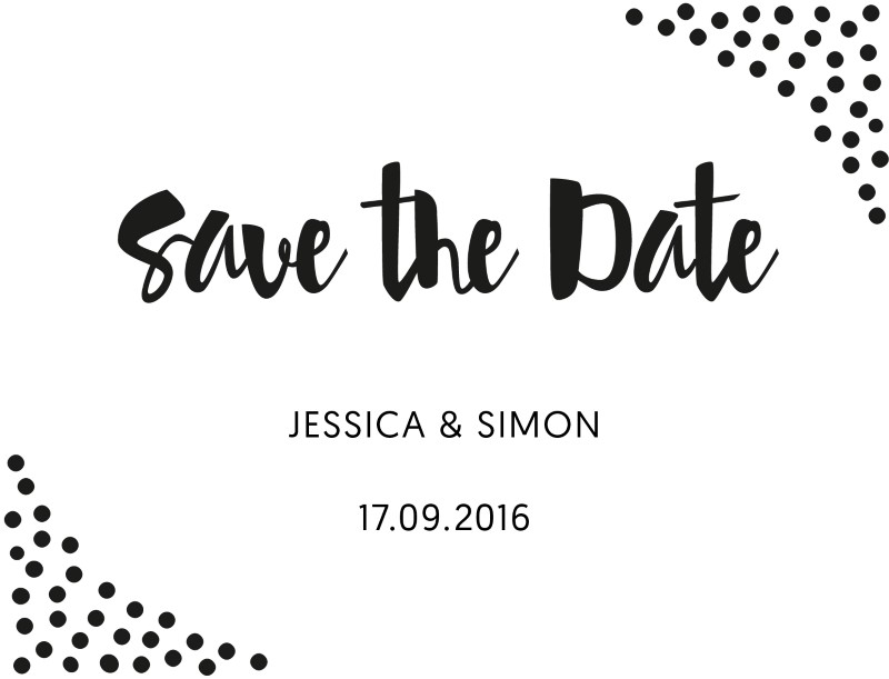 Foil of dreams - Save The Date