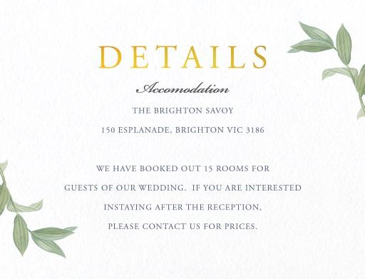 Branch - Information Cards