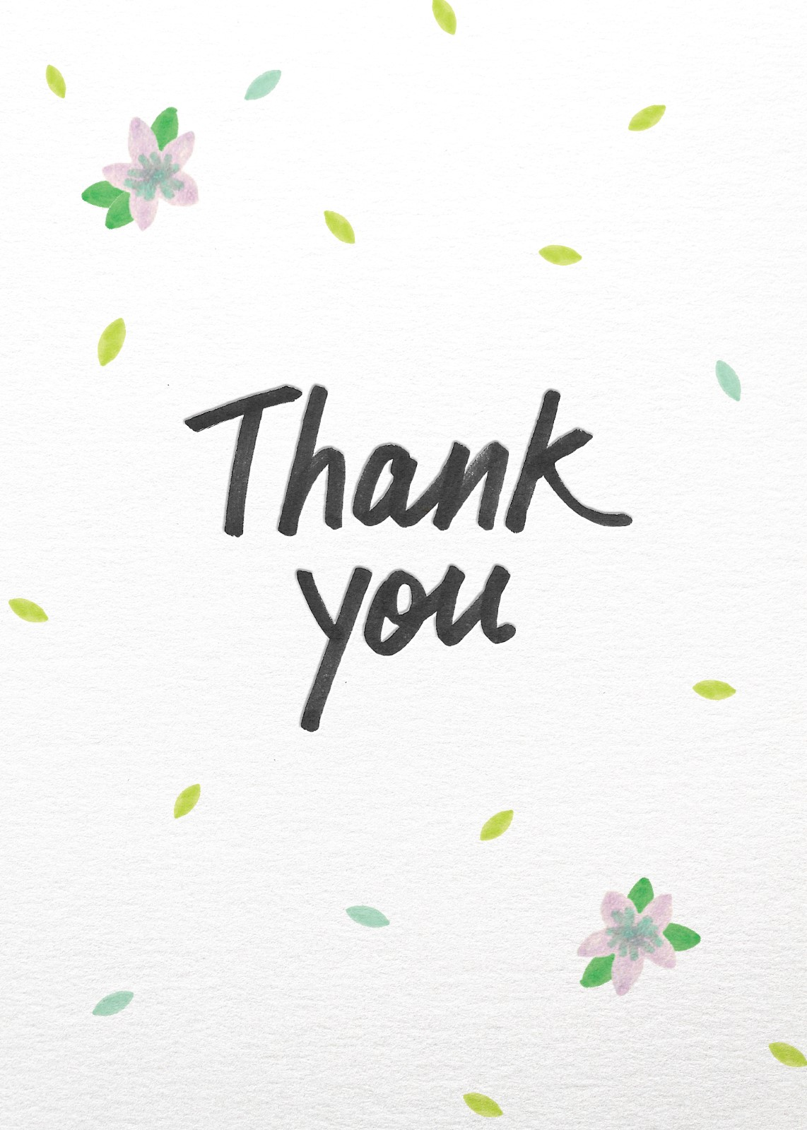 Spring - Thank You Cards
