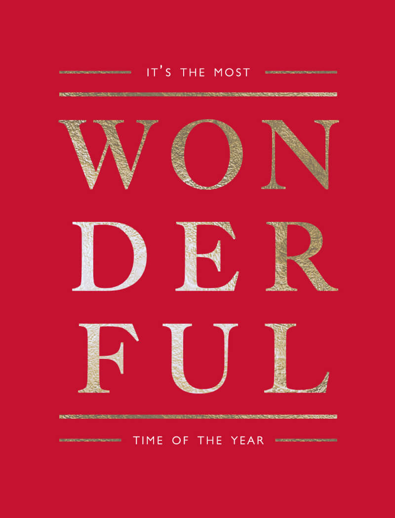 The Most Wonderful - Christmas