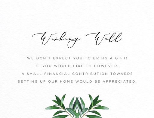 Olive - wedding invitations