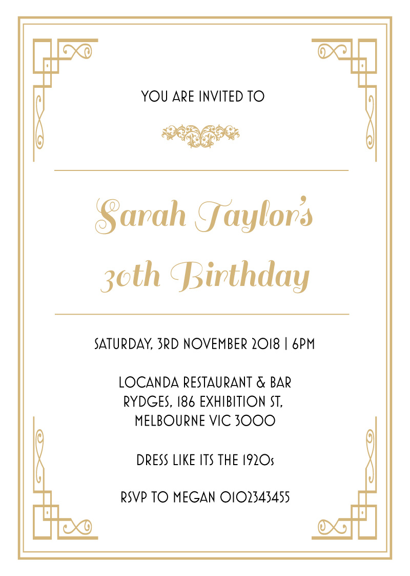 All aboard - Birthday Invitations