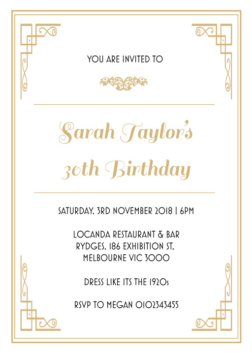 All aboard - birthday invitations