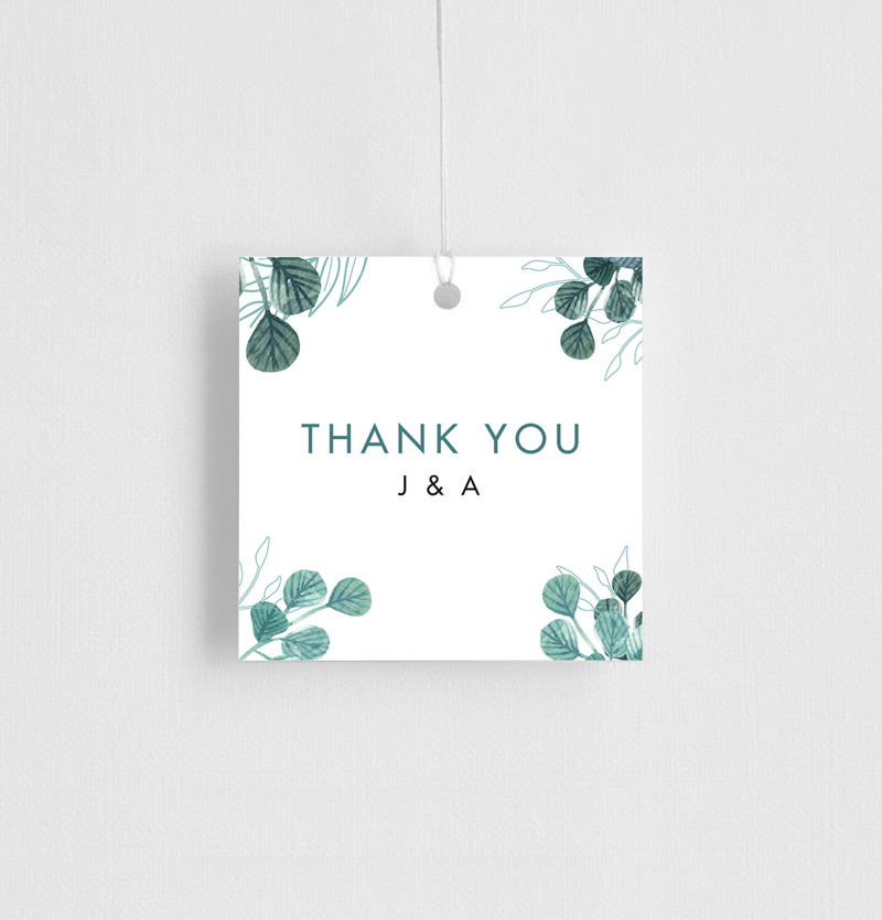 Stylistically Green - Gift Tags