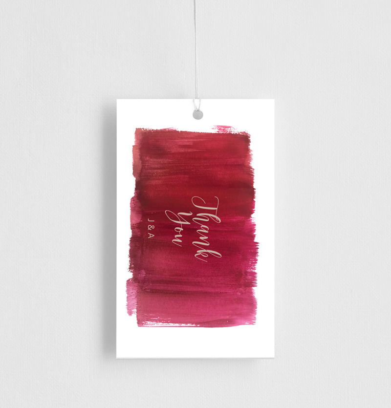 Pinot Noirs And Chardonnays - Gift Tags