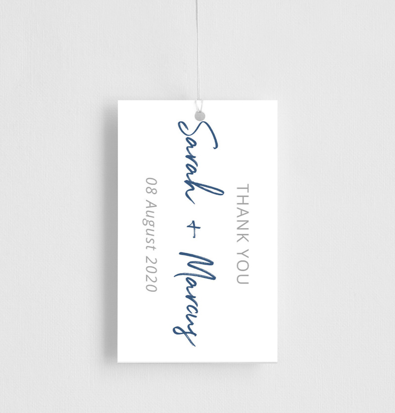 Soft Waves - Gift Tags