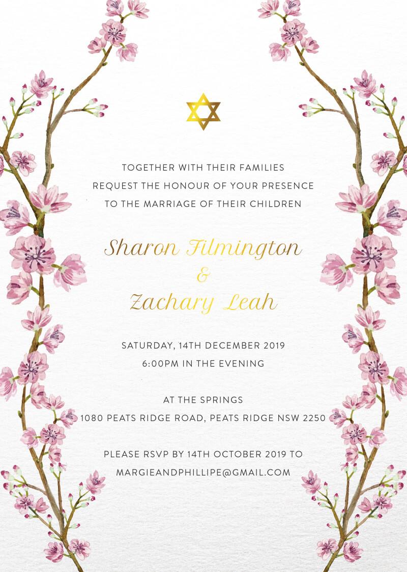 Aviva - Wedding Invitations