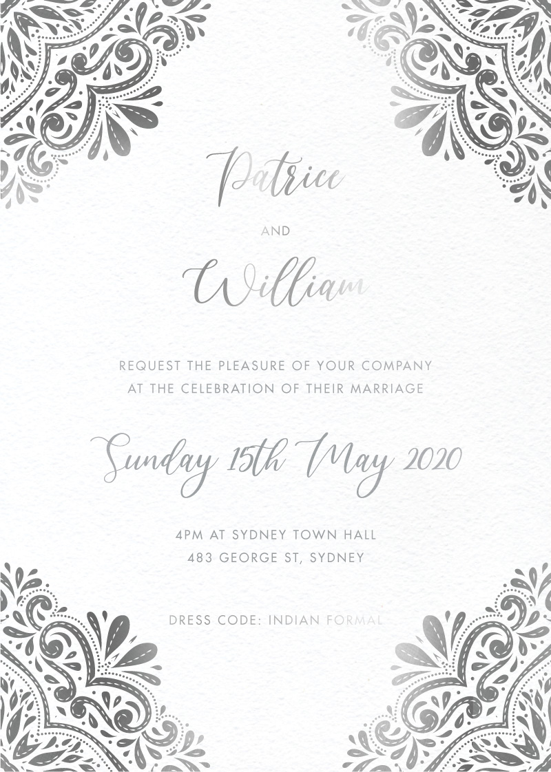 India - Wedding Invitations