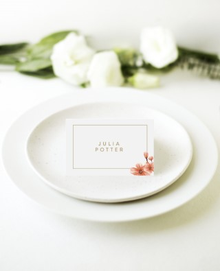 Sweet Tropical - Place Cards