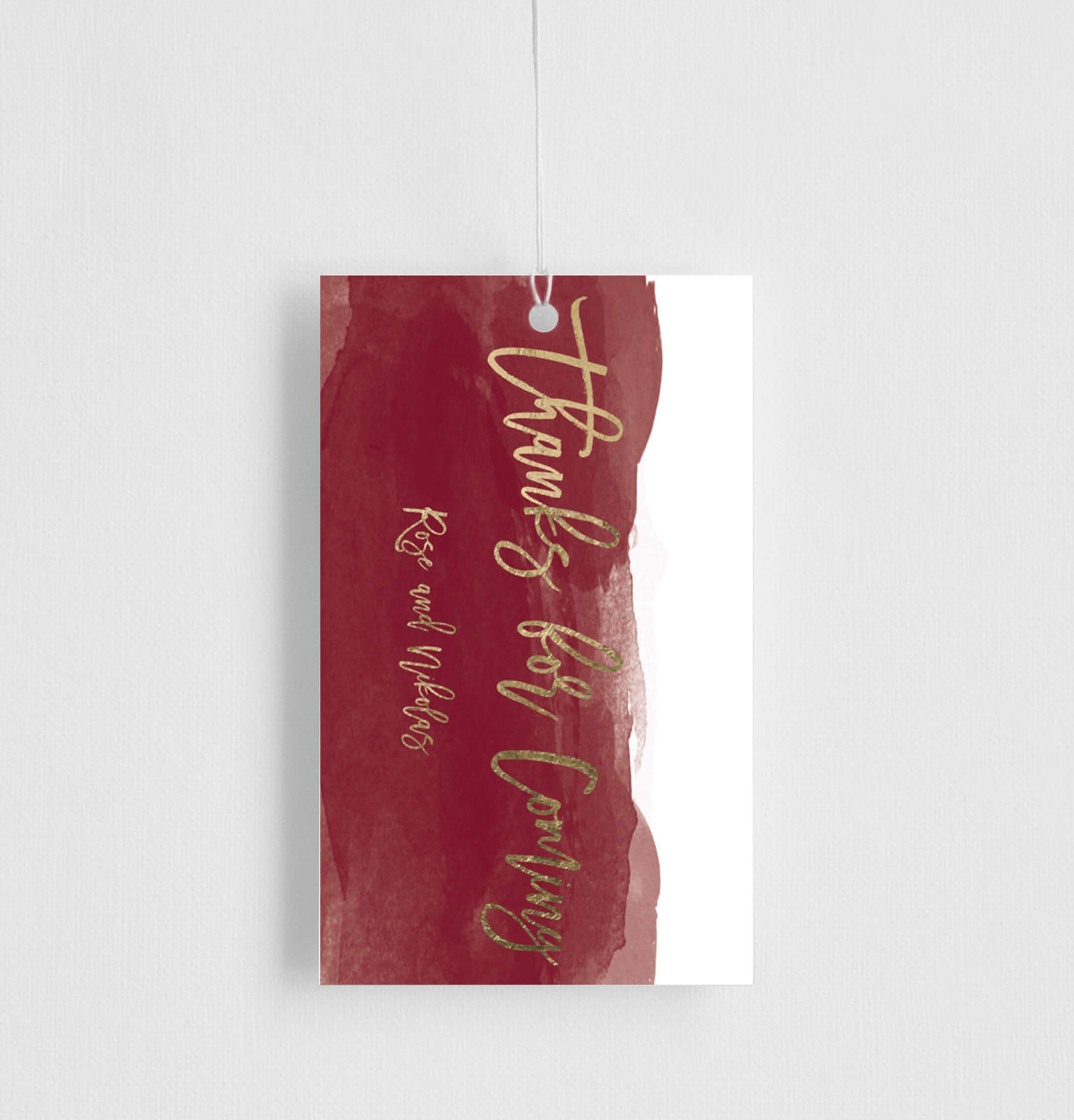 Be Our Guest - Gift Tags