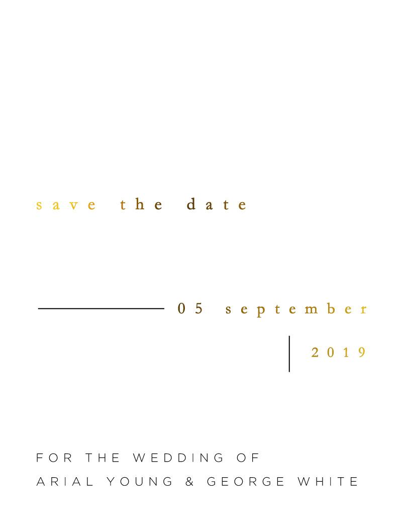Nouveau - Save The Date