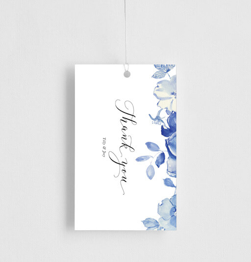 British Floral - gift tags