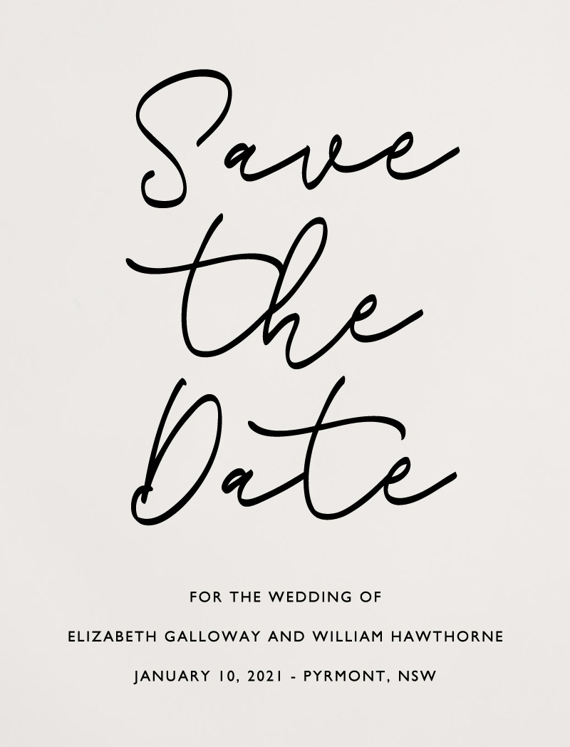 Scripted - Save The Date