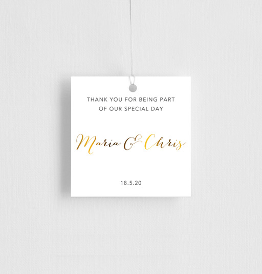 Saint Mary - gift tags