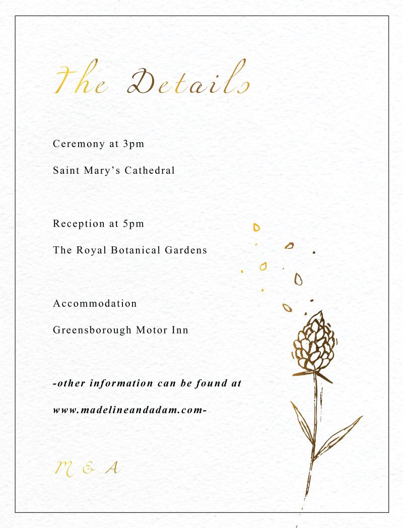 Wedding Petals - Information